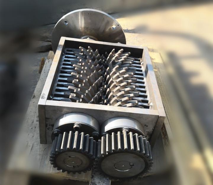 餐厨垃圾设备 撕碎压榨一体机